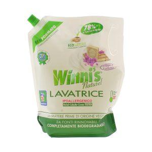 Detersivo per lavatrice di Winni's in ecoformato