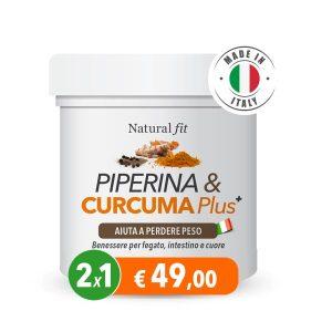 Piperina e Curcuma 2x49