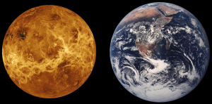 Venere-Terra