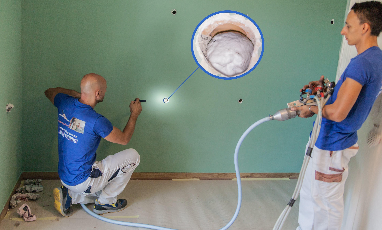 Pareti Esterne Casa : Isolamento termico delle pareti esterne riempimento cos è e