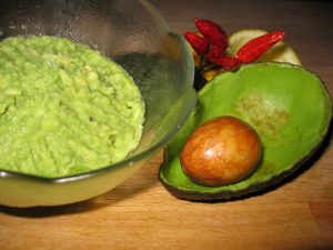 Guacamole-ingredienti